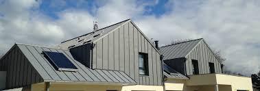 Traditional Zinc Standing Seam Metal Roof