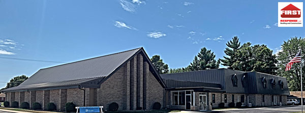 Large Church Installed in Standing Seam On