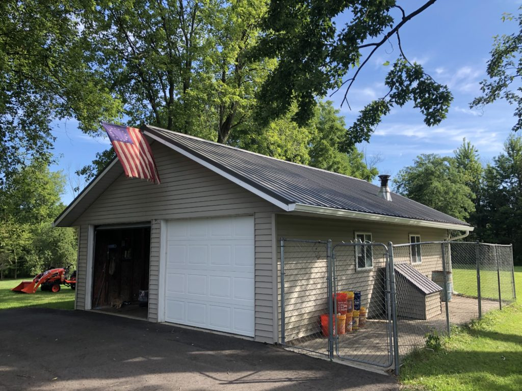 After Metal Roof Gutters in Lakeport, MI